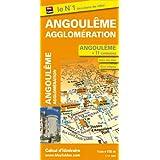 Plan d'Angoulême et de 11 communes de l'agglomération