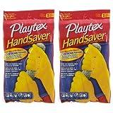 Playtex HandSaver Antimicrobial Gloves, Medium - 2 pk