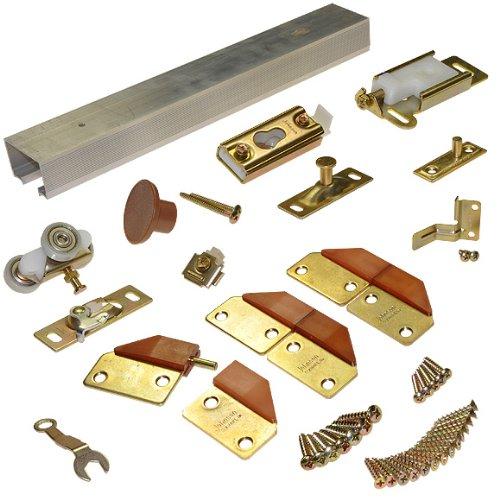 100FD Bifold Closet Door Track & Hardware- 96
