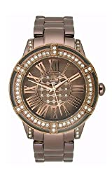 JLO Three-Hand Bracelet - Brown Women's watch #JL/2732BMBN