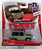 Disney / Pixar CARS MAINLINE 1:55 Die Cast Car Miles Axlerod [Palace Chaos 4/9 Open Hood Chase]