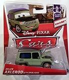 Disney / Pixar CARS MAINLINE 1:55 Die Cast Car Miles Axlerod [Palace Chaos 4/9 Open Hood Chase]