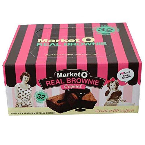 Market O マーケットオー リアルブラウニーギフトパック 32個入り(8個×4箱)