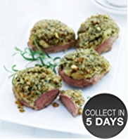 4 Lamb Rump Steaks with Parsnip and Rosemary Crust