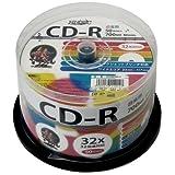 磁気研究所 音楽用CD-R 32倍速 50枚スピンドル HDCR80GMP50 ランキングお取り寄せ