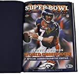John Elway Autographed Super Bowl XXXII Champions Commemorative Program BAS