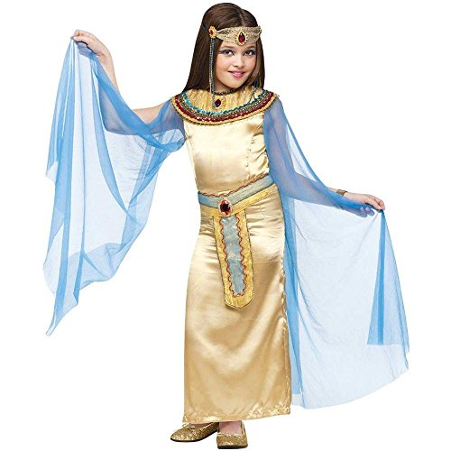 Girls CLEOPATRA Costume - Girls Egyptian Costume with Bracelet for Mom