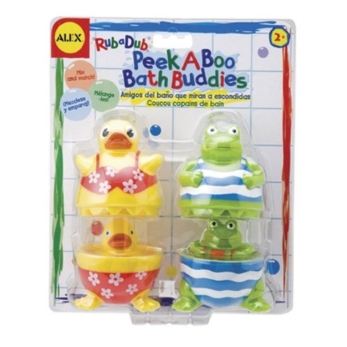 Peek A Boo Bath Buddies - 1