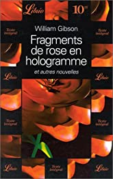 Fragments de rose en hologramme