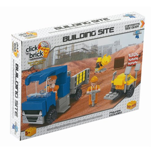 Click Bricks Building Site Set (147-Piece)