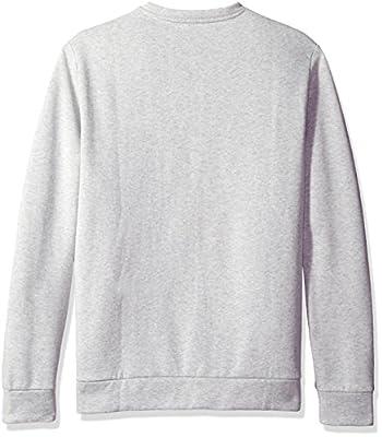 Calvin Klein Men's Long Sleeve Color Block Ck Logo Crew Neck T-Shirt