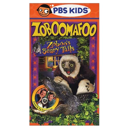Amazon.com: Zoboomafoo - Zoboo's Scary Tails [VHS]: Chris Kratt