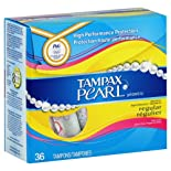 Tampax Tampons, Regular Absorbency, Fresh Scent 36 tampons