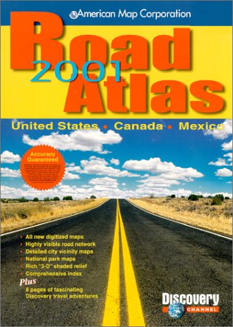 Amc Us Road Atlas 2001: United States, Canada, Mexico