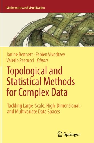 Topological and Statistical Methods for Complex Data: Tackling Large-Scale, High-Dimensional, and Multivariate Data Spac