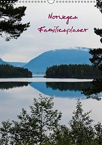 Familienplaner Norwegen (Wandkalender 2015 DIN A3 hoch): Gutorganisiert durch's Jahr mit dem Familienplaner (Monatskalender, 14 Seiten), Buch