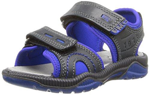 Primigi Denver Sandal (Toddler/Little Kid/Big Kid),Black/Blue,32 Eu(13.5 M Us Little Kid) front-1008015