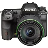 Pentax K-3 lens kit w/ 18-135mm WR 24MP SLR Camera with 3.2-Inch TFT LCD and 18-135mm WR f 3.5-5.6 (Black)
