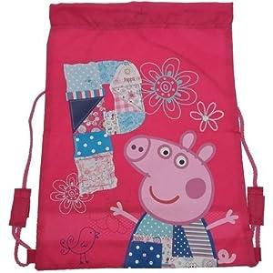 Peppa Pig Patchwork - Mochila blanda con diseño de Peppa