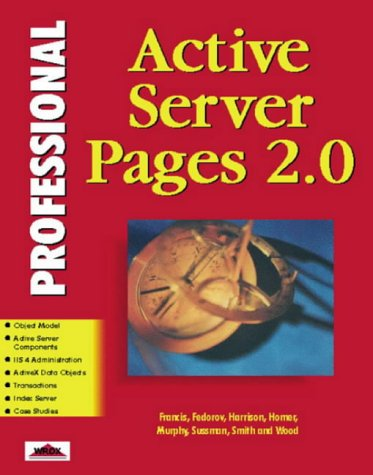 Image for Professional Active Server Pages 2.0
