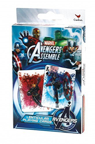 Marvel Avengers Assemble Lenticular Playing Cards