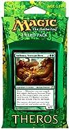Magic the Gathering Theros Intro Pack  Green Anthousa Setessan