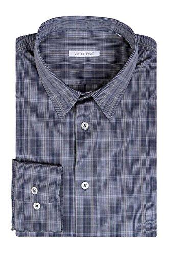 gianfranco-ferre-gf-chemises-chemise-slim-homme-couleur-bleu-fonce-taille-38