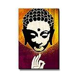Seven Rays Gautama Buddha Vitarka Mudra Fridge Magnet