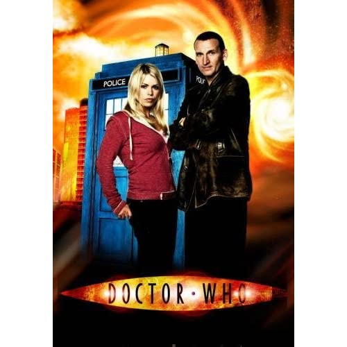 "Dr. Who Poster #02 Christopher Eccleston Billie Piper 24""x36"""