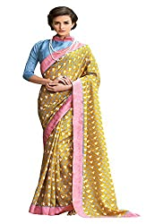Fabboom Latest traditional Fancy Simple Multi Colour Saree Buy Online