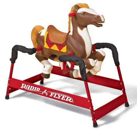 Buy Radio Flyer 370 Champion Spring Horse Rocking Ride On