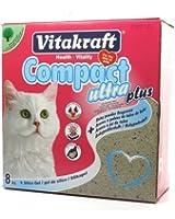Vitakraft 16079 Compact Ultra Plus pour chat 8 kg