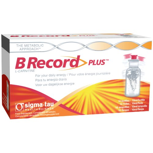B Record Plus Energy and Vitality Supplement - 10-Pack