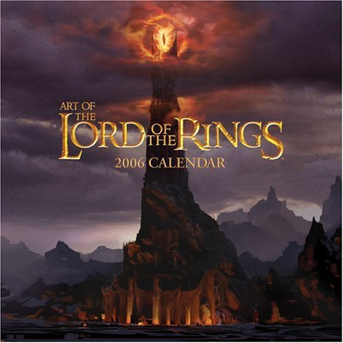 Art of the Lord of the Rings: 2006 Wall Calendar