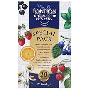 ロンドンフルーツ&ハーブ ティーバッグ スペシャルパック 20袋