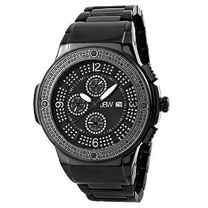 JBW Men's JB-6101-164-E Saxon Multifunction 2.00 Carat Diamond Watch