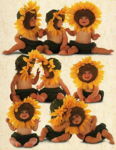 Ceaco Anne Geddes Sunflower Baby Jigsaw Puzzle (550-Piece)