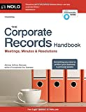 img - for Corporate Records Handbook, The: Meetings, Minutes & Resolutions book / textbook / text book
