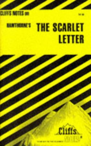 Image for Scarlet Letter Notes (Cliffs Notes)