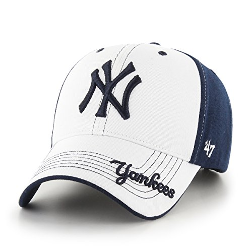 MLB New York Yankees Revolution MVP Adjustable Hat, Kids, Navy (Kids Yankee Hat compare prices)