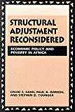 Structural adjustment reconsidered:economic policy and poverty in Africa