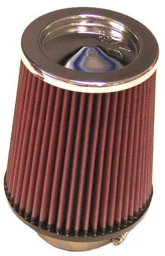 K&N RC-5100 High Performance Universal Clamp-on Chrome Air Filter