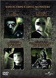 Classic-Monsters-:-La-Momie,-L'homme-invisible,-Le-Fantôme-de-l'Opéra,-L'étrange-créature-du-lac-noir