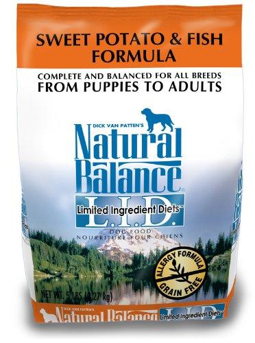 Natural Balance Sweet Potato and Fish Formula