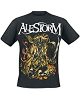 Alestorm We Are Here To Drink Your Beer! T-Shirt schwarz