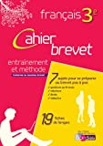 Brevet français 3e  Cahier d'exercices