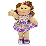 Cabbage Patch Kids Caucasian Girl (Red/ Green)
