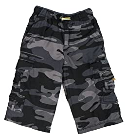 BOYS Brooks 360 Camo Cargo Messenger Shorts