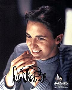 Wil Wheaton in Star Trek The Next Generation Signed Autographed 8 X 10 RP Photo - Mint Condition