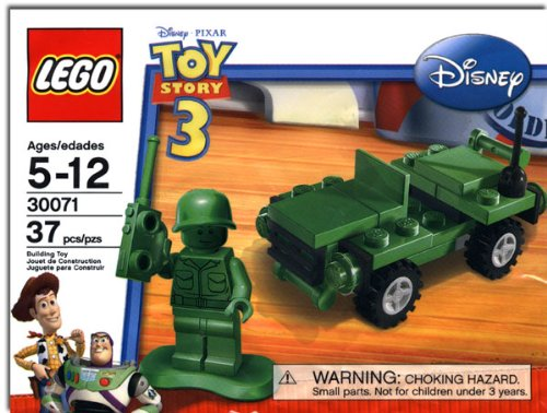LEGO Disney / Pixar Toy Story Set #30071 Army Jeep Amazon.com